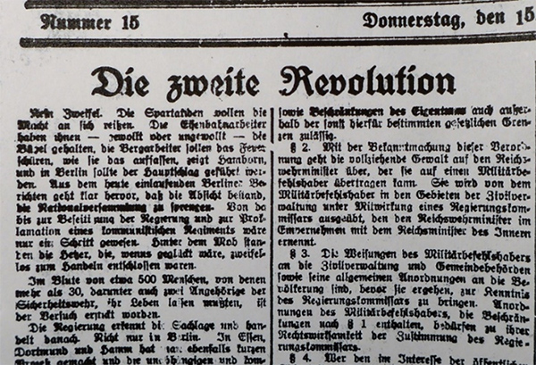 15. Januar 1920
