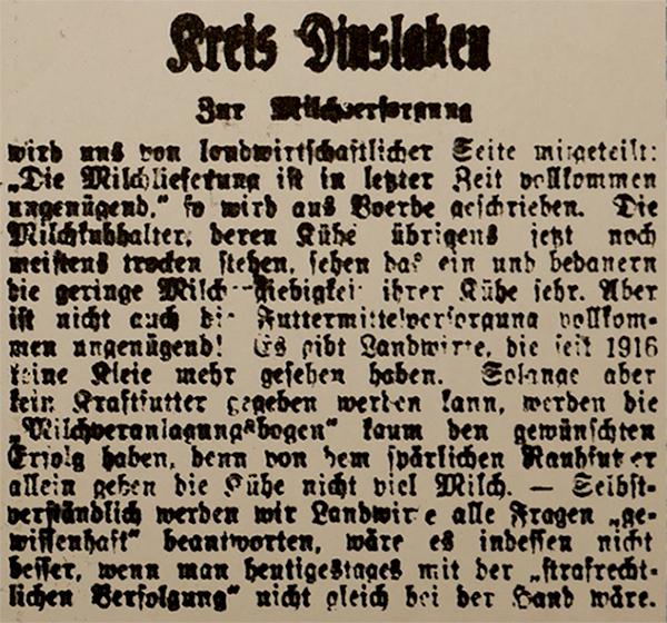 HVZ vom 12. Februar 1920