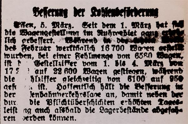HVZ, Essen, 5. März 1920