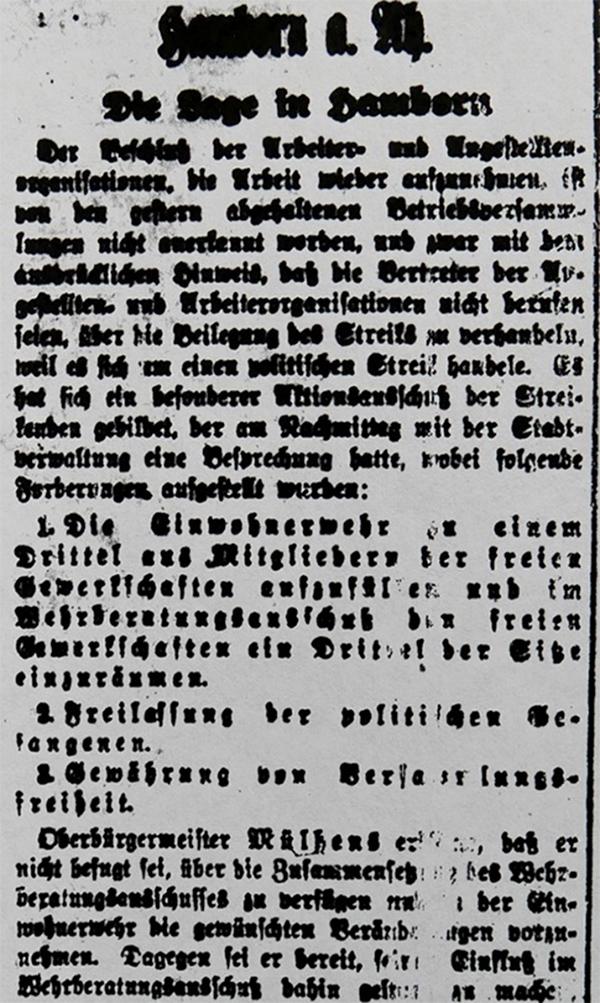 HVZ, Hamborn, 18. März 1920