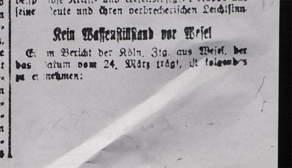 Köln /Wesel, 24. März 1920